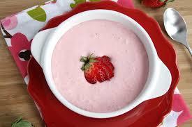 Mléčná polévka ovocná