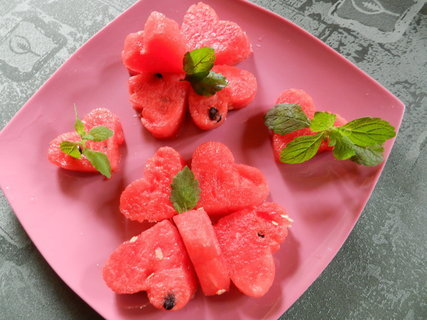 Opilý melounový salát
