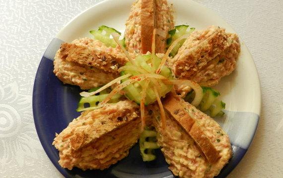 Domácí hermelínový salát