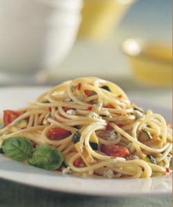 Špagety s nivou