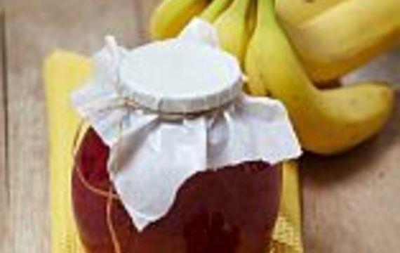 Rybízovo-banánová marmeláda