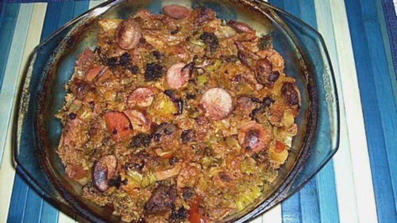 Plovdivské maso s rýží