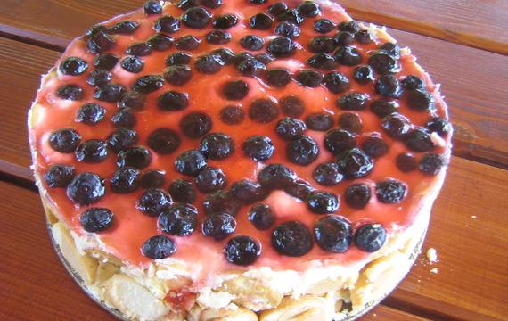 Jogurtovo-smetanový dort mojí maminky