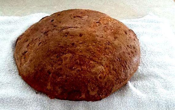 Domácí chléb kmínový