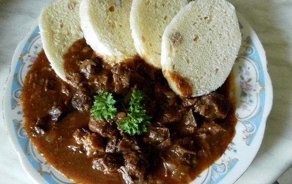 Hodinkový guláš z hovězího masa