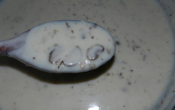 Krémová žampionovo- lišková omáčka