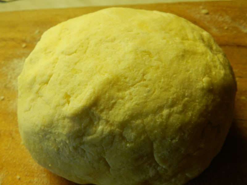 Meruňkové knedlíky v bramborovo- tvarohovém těstě