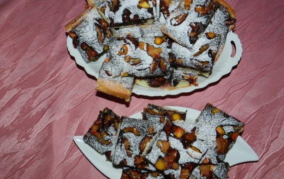 Dvoubarevný hrnkový koláč