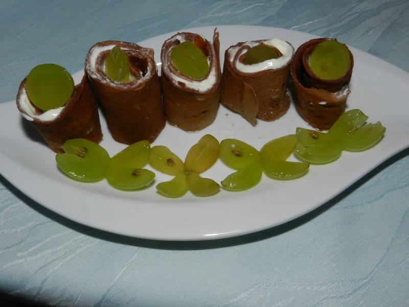 Kakaovo-nutelové palačinky
