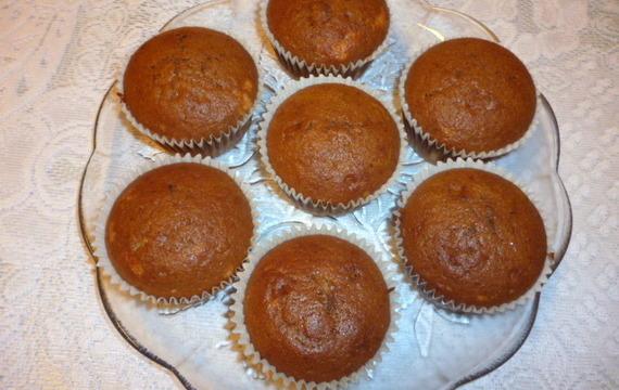 Plněné muffiny