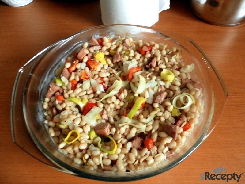 Makedonské zapečené fazole