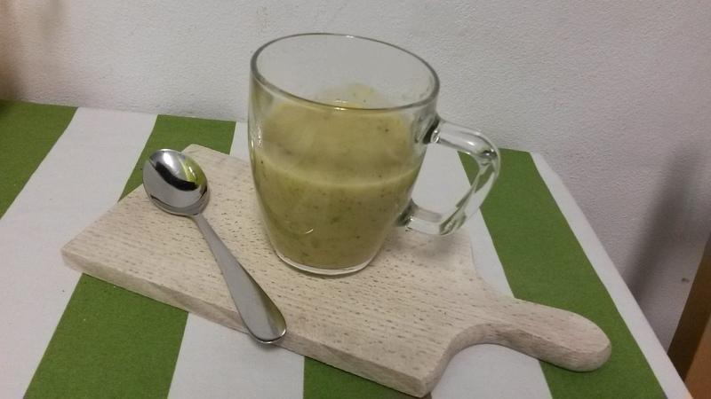 Cuketová polévka s oreganem