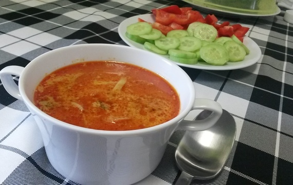TOM YUM polévka