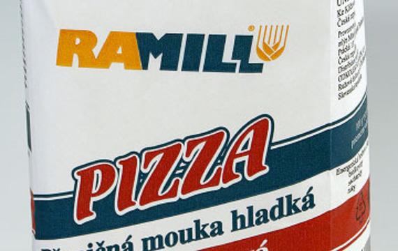 Pizza mouka