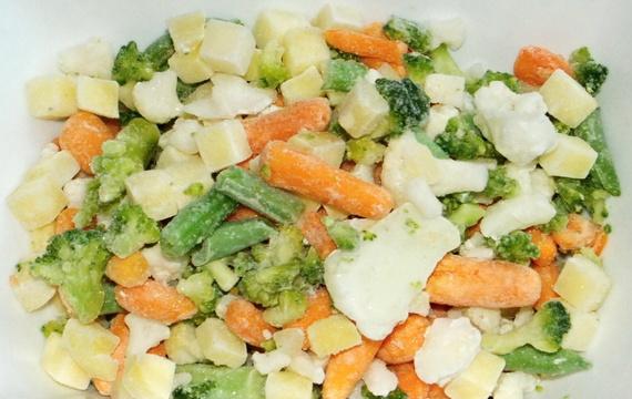 Mražená zeleninová směs