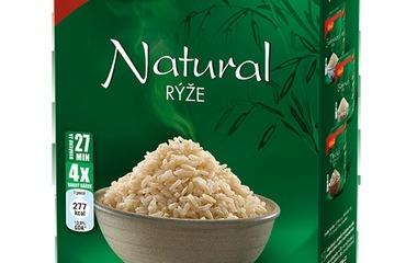 Celozrnná rýže natural