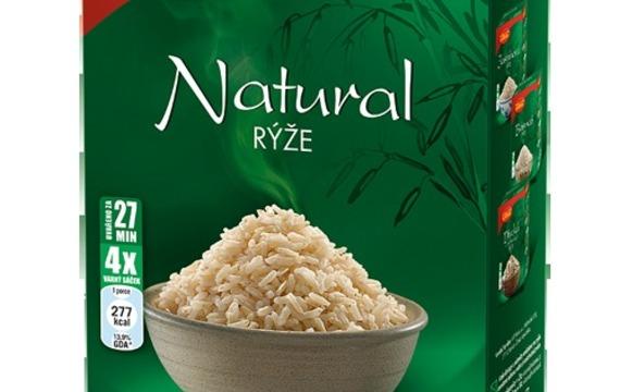 Rýže natural (celozrnná)