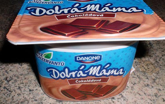 Čokoládový jogurt