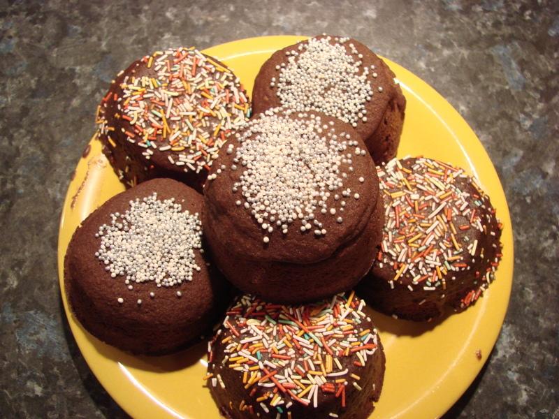 Gateau au chocolat (čokoládový koláč)