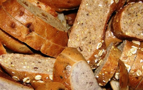 Vícezrnný domácí chléb
