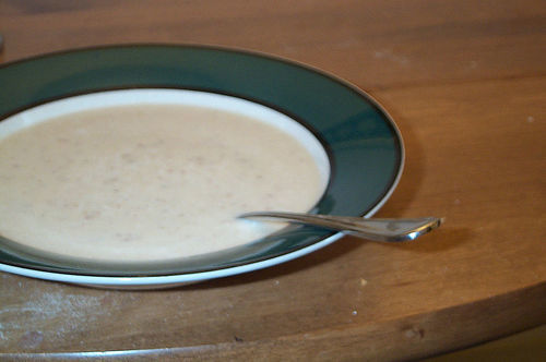 Hrušková polévka