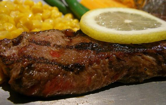 Grilovaný svíčkový steak