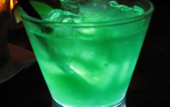 Zelený fernet