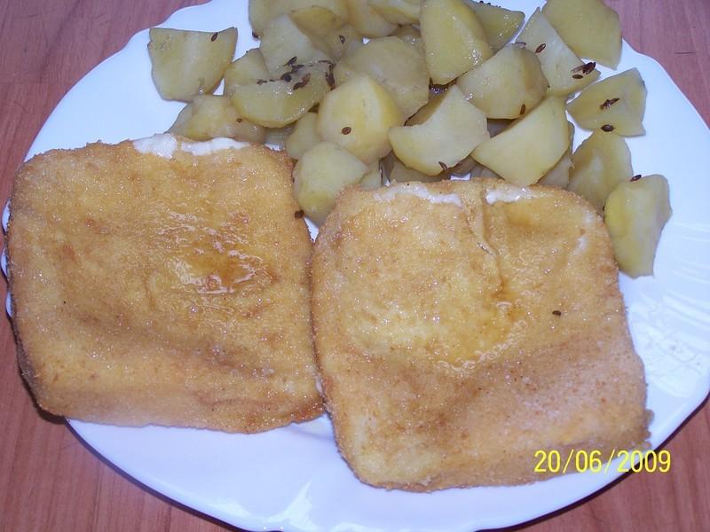 Tradiční český smažák