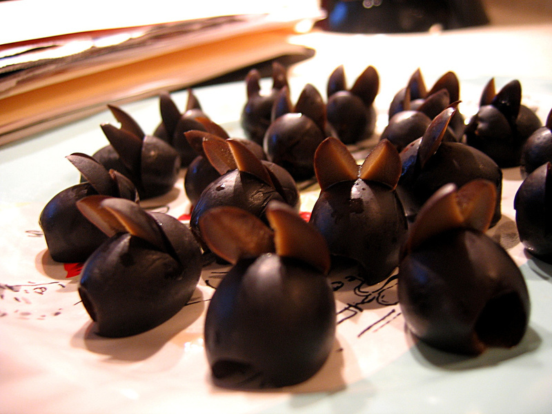 Králičci z oliv