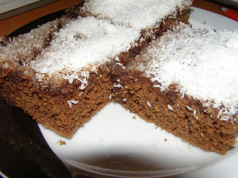 Vařená čokoládová buchta
