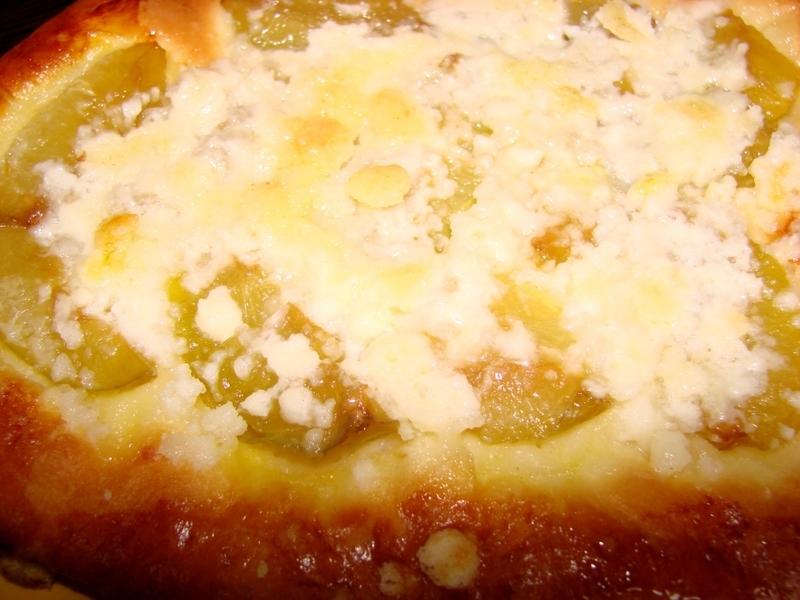 Rynglový koláč z kvasnicového těsta