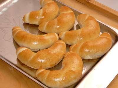 České rohlíky z domácí pekárny
