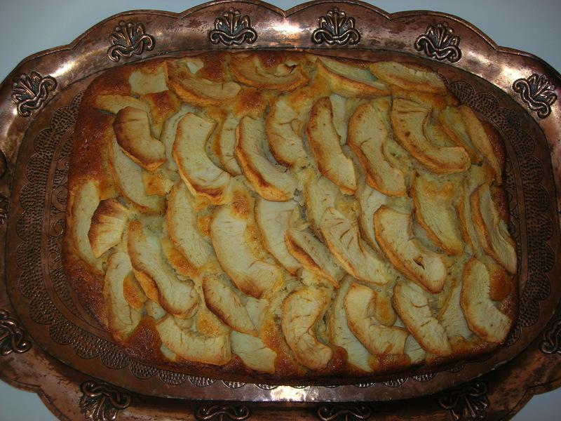 Bublanina s jablky