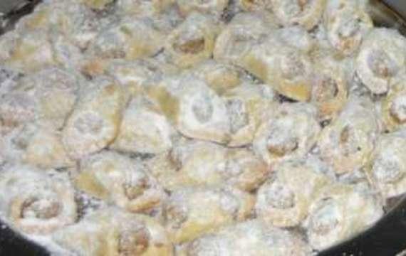 Ořechové šátečky