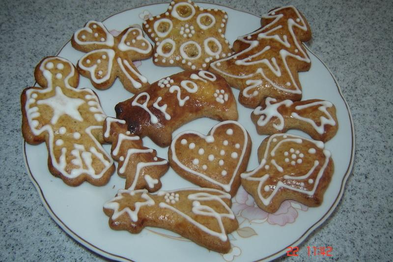 Výborné vánoční perníčky (hned měkké)