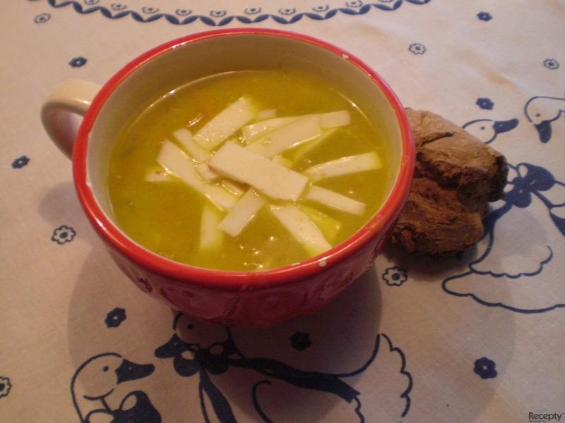 Dýňová polévka Hokkaido