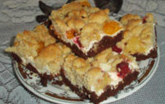 Tvarohový koláč - Jahůdka