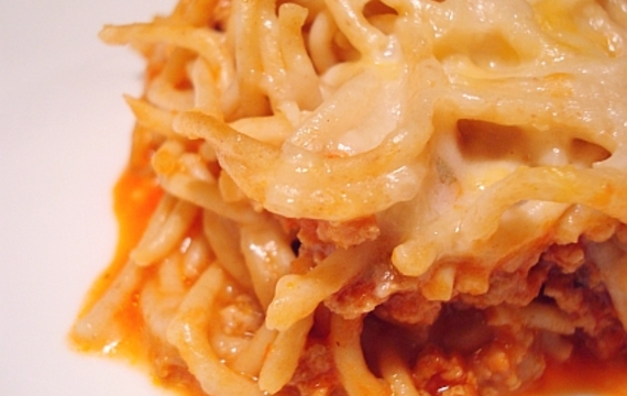 Zapékané špagety