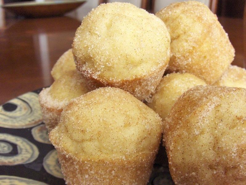 Vánoční skořicové mini muffins