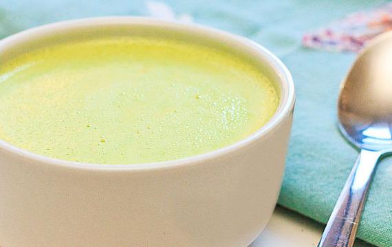 Krémová hrášková polévka