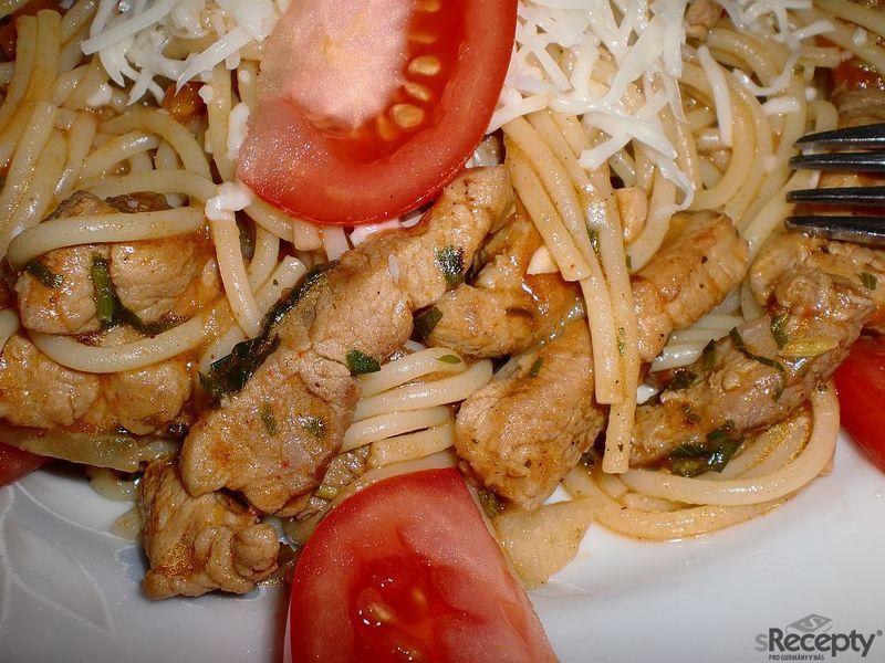 Špagety po lombardsku