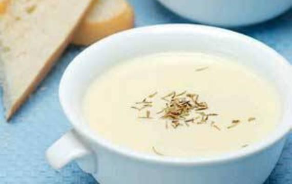 Sýrovo - smetanová polévka