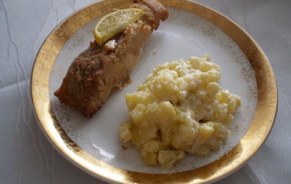 Jednoduchý bramborový salát