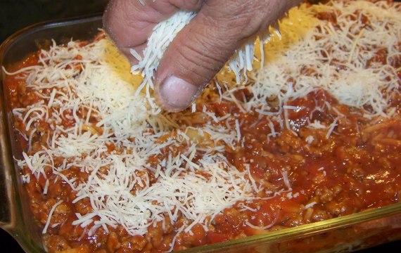 Zapékané špagety II.