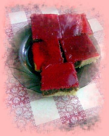 Buchta s čokoládou s polevou z Tangu