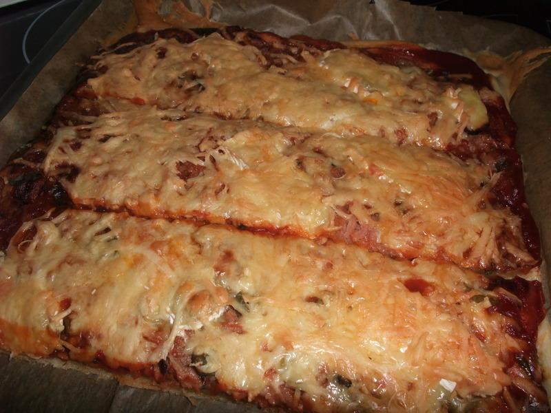 Těsto na pizzu z domácí pekárny