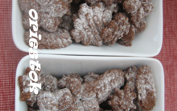 Kakaové keksy do lisu