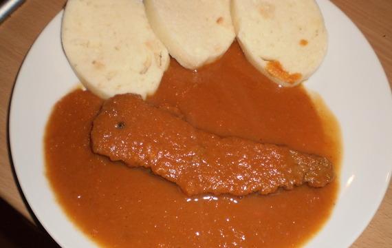 Hovězí maso se šípkovou omáčkou