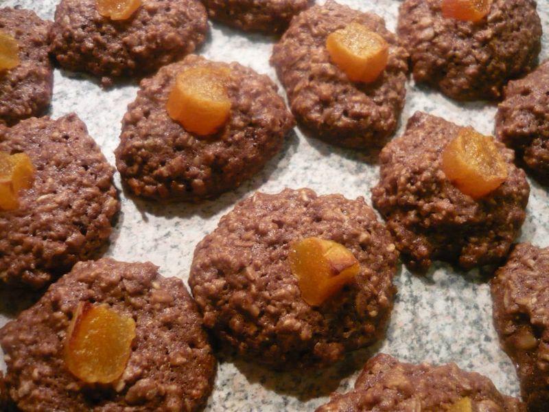 Placičky z ovesných vloček s meruňkami