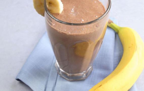 Banáno-kakaový nápoj